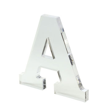 """Make Market™ Clear Acrylic Letter, 7"""""""