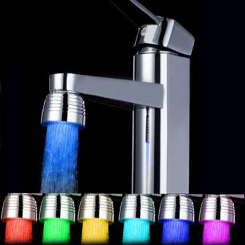 LED Water Faucet Spray Head