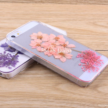 Pressed Flower swallows iPhone 5 case, iPhone 4 case, iPhone 4s case, iPhone 5s case, iPhone 5c case, Galaxy S4 S5 Note 3 - 01033-5