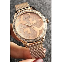 8DESS GUESS Woman Men Fashion Diamonds Quartz Classic Wristwatch Watch