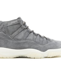 "AIR JORDAN 11 RETRO PREM ""GREY SUEDE"" SNEAKER"