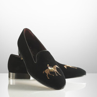COLLIS VELVET HORSE SLIPPER