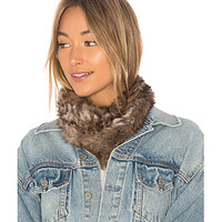 Hat Attack Luxe Rabbit Loop Scarf in Neutral | REVOLVE