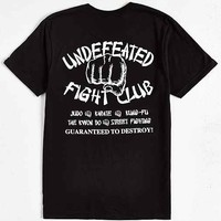 Undefeated Fight Club Tee