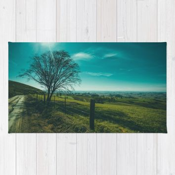 The Walk Home Rug by Mixed Imagery