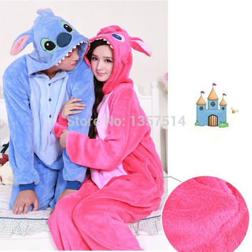 Adult Pajamas Cosplay Cartoon Animal Onesuit Sleepwear Christmas Halloween