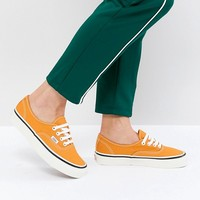 Vans Anaheim Authentic Sneakers In Og Gold at asos.com