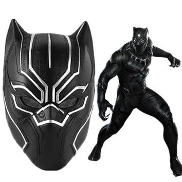 BLACK PANTHER MOVIE 3D Mask ADULT Size Replica For Cosplay-High Quality
