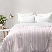 Lisa Argyropoulos Soft Blush Stripes Comforter