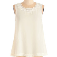 ModCloth Mid-length Sleeveless Girl of my Daydreams Top