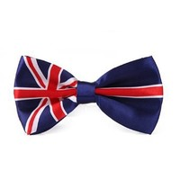 HDE Bowtie - One Size - British Flag