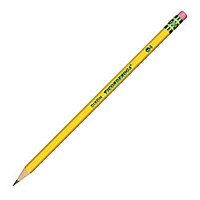Ticonderoga Pencils 2 Medium Soft Lead Box Of 12 by Office Depot