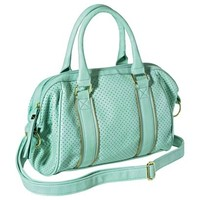 Xhilaration® Perforated Satchel Handbag - Mint