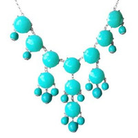 Turquiose Bubble Necklace