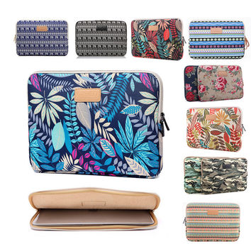 Laptop Case Notebook Sleeve Pouch For 11.6 12 13.3 14.1 15.4 15.6 17 Ultrabook  Soft Envelope Bag  Cover For Macbook PRO hp sony