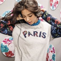 """Adidas""Autumn Female Movement Sweatshirts Pullover Long Sleeve T-Shirt"