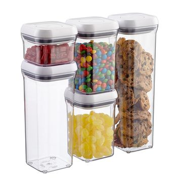 OXO Good Grips 5-Piece POP Canister Set