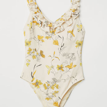 Swimsuit with Ruffles - from H&M