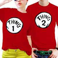 Thing One Thing Two Couples Matching Shirts, Couples T Shirts, Funny Couple Shirts