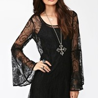 Spellbound Dress - Black in  Clothes at Nasty Gal