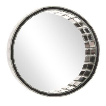 "Howard Elliott Prism Round Mirror 10"" Diameter x 5"""