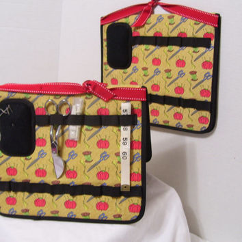 Sewing Tool Organizer Caddy Hanging or Table Top Use