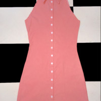 SWEET LORD O'MIGHTY! THE BABE SHIRTDRESS IN PINK