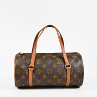 "Louis Vuitton Vintage Monogram Coated Canvas ""Papillon"" 26 cm Bag"