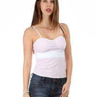 """Pink Spaghetti Strap Top """"Summer Clearance"""""""