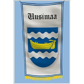 Uusimaa Finland Coat of Arms