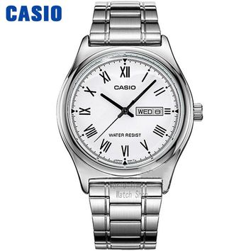 Casio watch Simple fashion watch waterproof leisure business male watch MTP-V006D-7B MTP-V006GL-9B MTP-V006D-1B MTP-V006L-1B