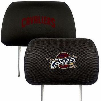 Cleveland Cavaliers 2-Pack Auto Car Truck Embroidered Headrest Covers