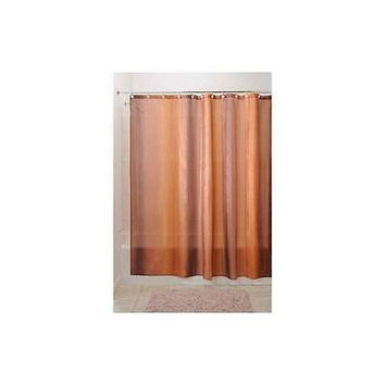 Interdesign Ombre Shower Curtain Brown/Gold