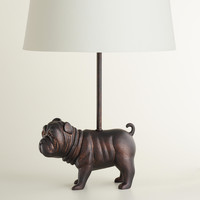 Bulldog Accent Lamp Base