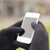 texting gloves - touch screen compatible knit gloves