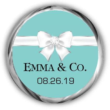 Baby & Co. Personalized Shower Candy Kisses Stickers