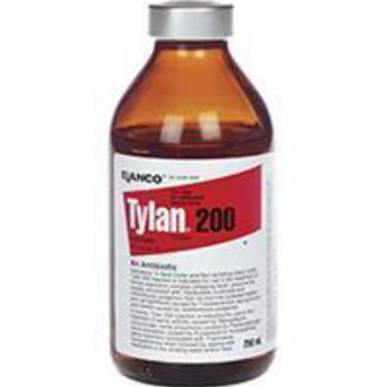 Durvet Inc              D - Elanco Tylan 200 Injection For Cattle And Swine