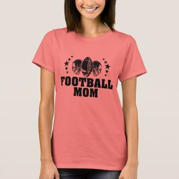 Football Mom American Football Mother T-Shirt