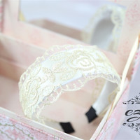 Romantic Retro Lace Headband