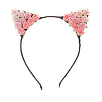 The Blushing Aristocat Headband