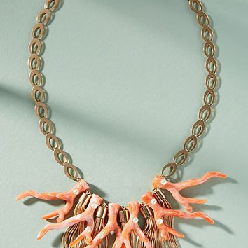 Coral Reef Bib Necklace