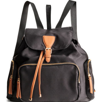 H&M Satin Backpack $39.99