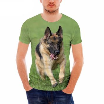 German Shepherd All-Over-Print T-Shirt - Men's Tops