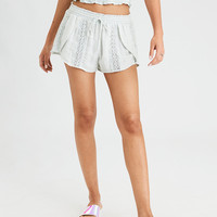 AE Lace Insert Dolphin Short, Mint