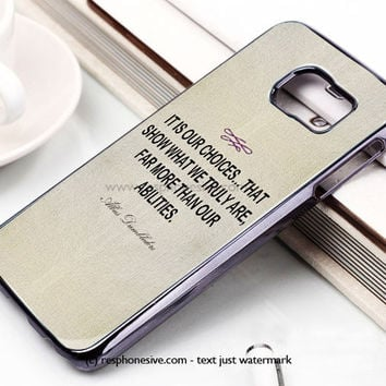 Harry Potte Flay Samsung Galaxy S6 and S6 Edge Case