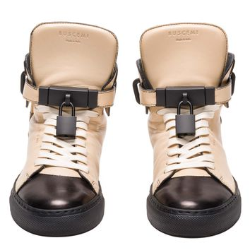 BUSCEMI WOMENS ALTA | MEDIUM TAN BLACK