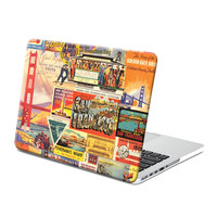 Hard Case Print Frosted (San Francisco Pattern) for Apple MacBook Pro 13 inch with Retina display