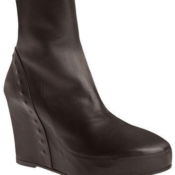 Ann Demeulemeester Wedge Ankle Boots