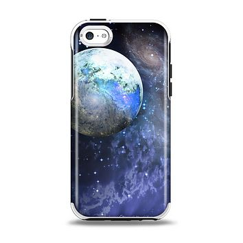 The Foreign Vivid Planet Apple iPhone 5c Otterbox Symmetry Case Skin Set