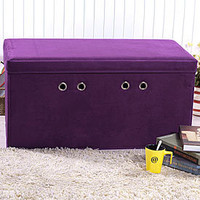 View Large Rectangular Microsuede Ottoman Deals at Big Lots